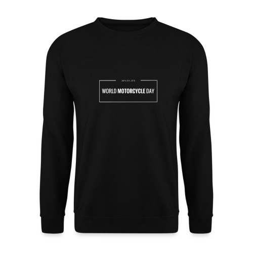 Official World Motorcycle Day 2016 Coffee Mug BLK - Men's Sweatshirt