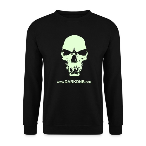 Dark DnB skull site - Men's Sweatshirt