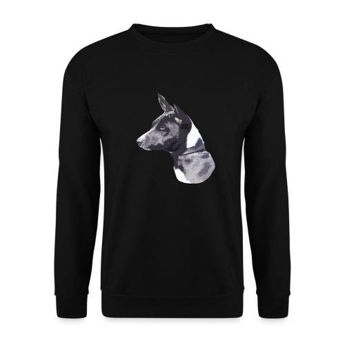 basenji black - Unisex sweater