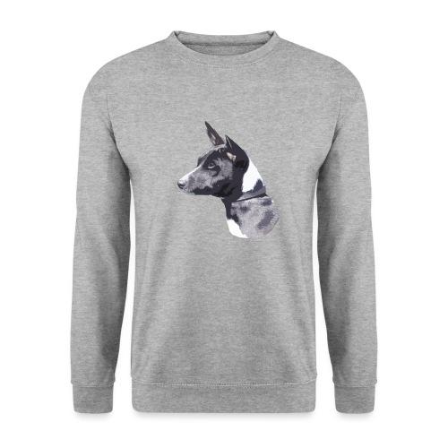 basenji black - Herre sweater
