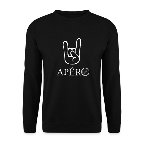rock and apéro - Sweat-shirt Homme