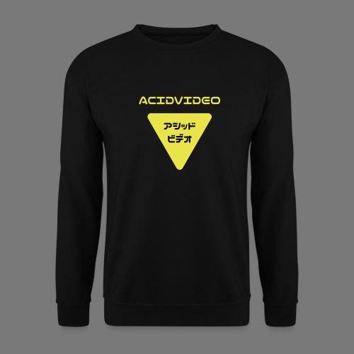 Acidvideo logo - Men's Sweatshirt