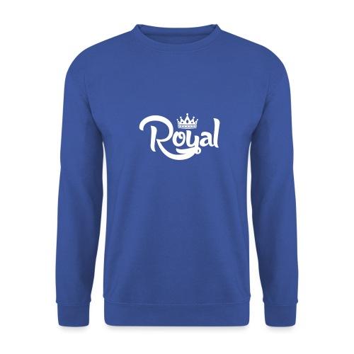 Royal Logo White Edition - Unisex Sweatshirt