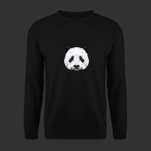 Panda Low Poly - Sweat-shirt Unisexe