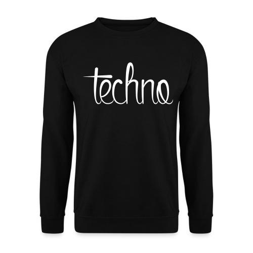 Techno - Mannen sweater