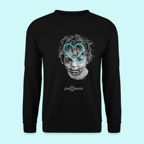 freehearts for povertychild - Männer Pullover