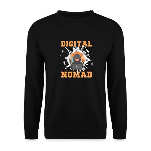 Digital Nomad - Männer Pullover