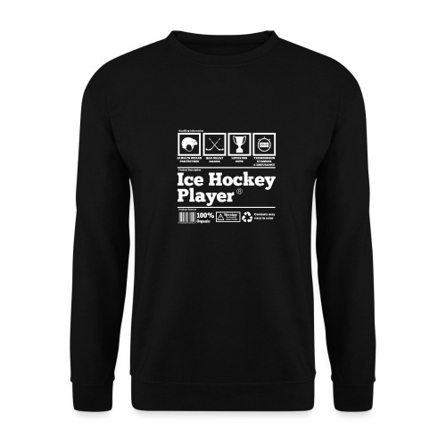 Ice Hockey Player Present Funny Hilarious - Männer Pullover