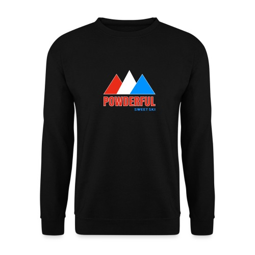 Powderful Sweet Ski - Unisex Pullover