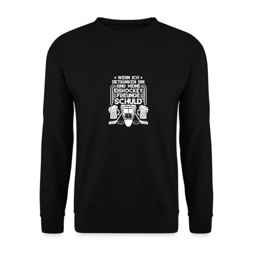 Lustiges Bier Eishockey Geschenk Hockey Freunde - Männer Pullover