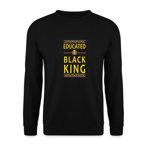Educated Black King abstand - Unisex Pullover