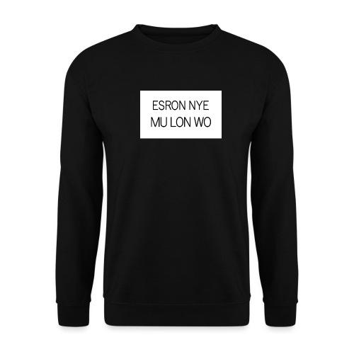 ESRON NYE MU LON WO - Sweat-shirt Unisex