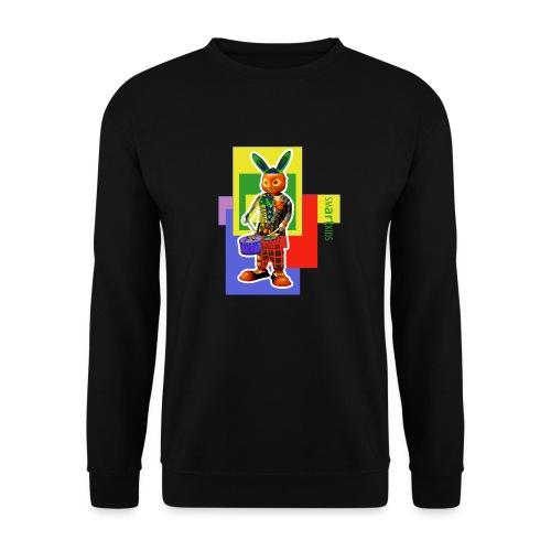 smARTkids - Slammin' Rabbit - Men's Sweatshirt