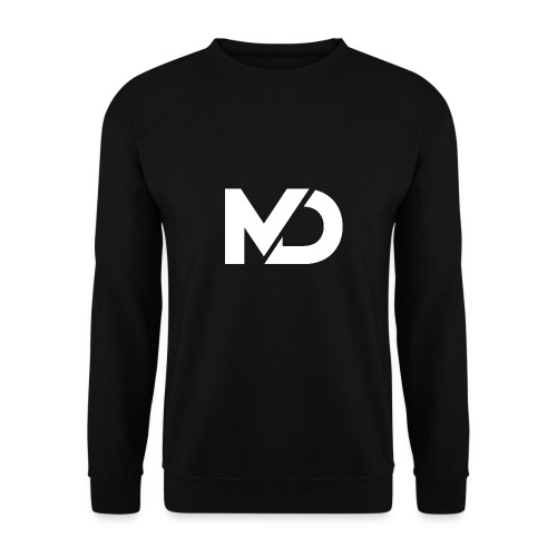 logo_wit - Mannen sweater