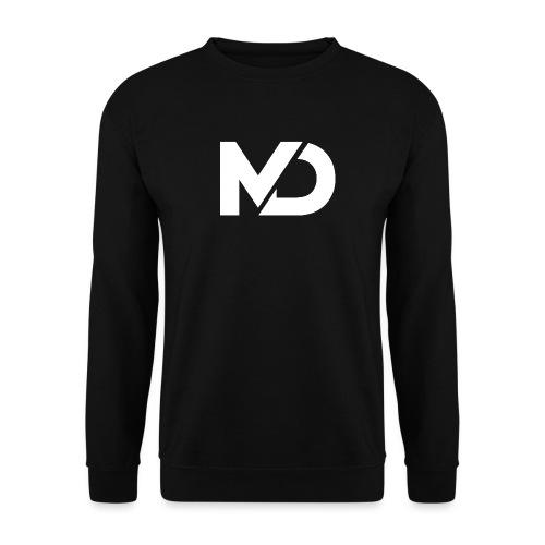 logo_wit - Mannen sweater