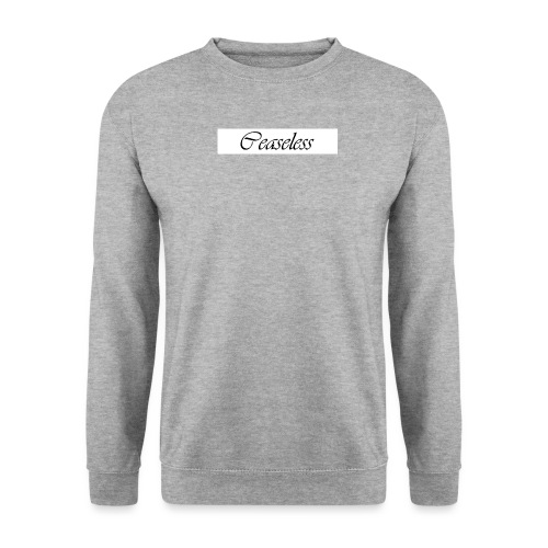 White - Men's Sweatshirt