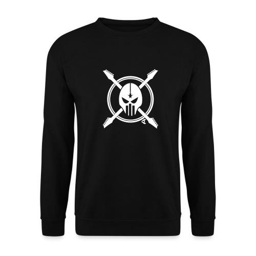 tete de mort guitare - Sweat-shirt Homme