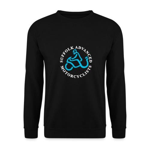 S.A.M. Logo for black - Men's Sweatshirt
