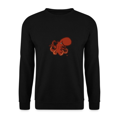Giant Pacific Octopus (black edition) - Sweat-shirt Homme
