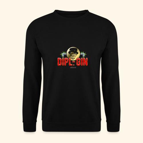 Gin T Shirt Design Dipl.-Gin - Männer Pullover