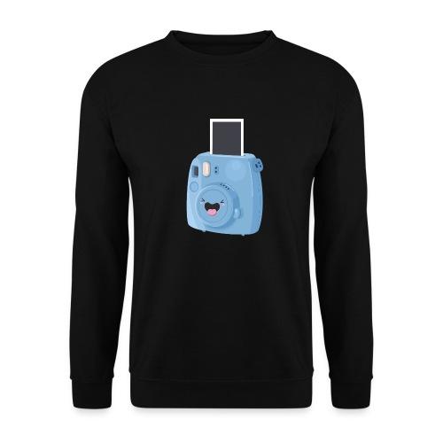 Appareil photo instantané bleu - Sweat-shirt Homme