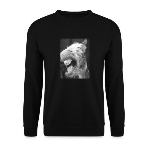 lachender Esel - Männer Pullover