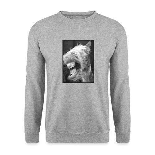 lachender Esel - Unisex Pullover