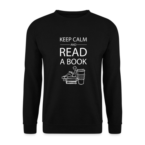 0274 Librarians | Keep Calm | Book | Read - Men's Sweatshirt