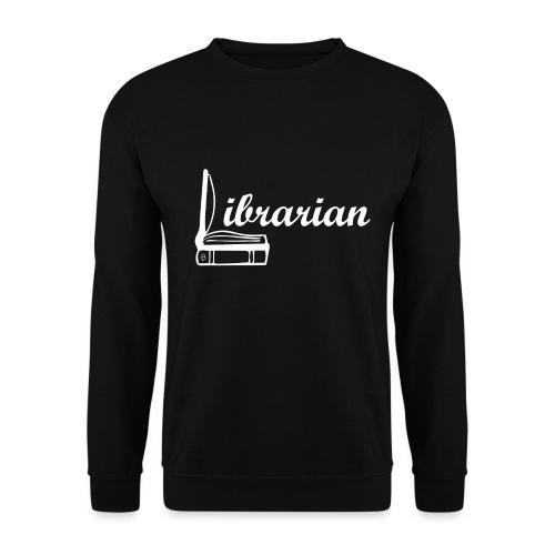 0325 Librarian Librarian Cool design - Men's Sweatshirt