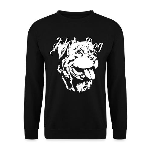 Rottweiler Kopf - Männer Pullover