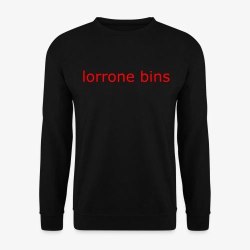 lorrone bins simple - Unisex Sweatshirt