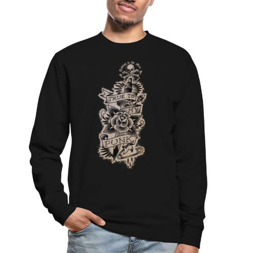 True to my Punk Tattoos to the Max - Unisex Pullover
