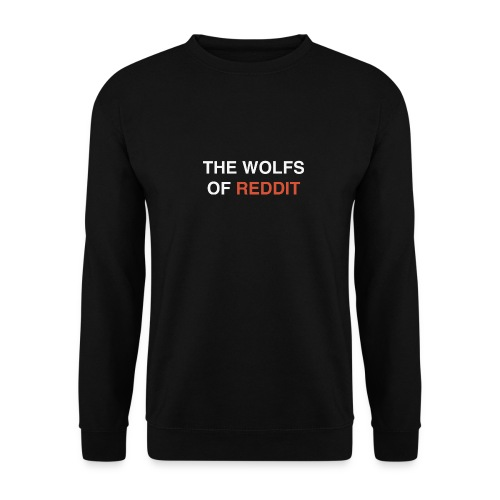 The wolfs of reddit - Sudadera unisex