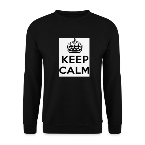 keepcalm png - Unisex sweater