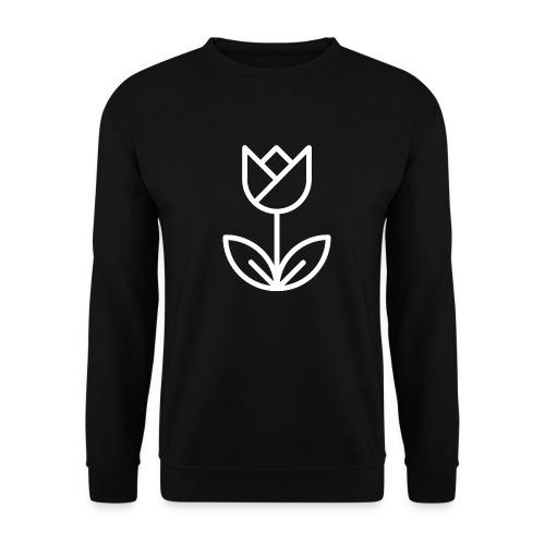 Tulip white png - Men's Sweatshirt