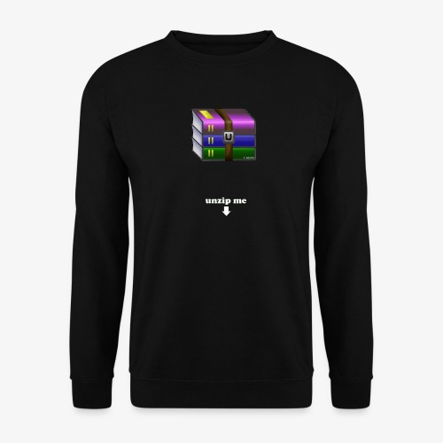 unzip me - Sweat-shirt Unisexe