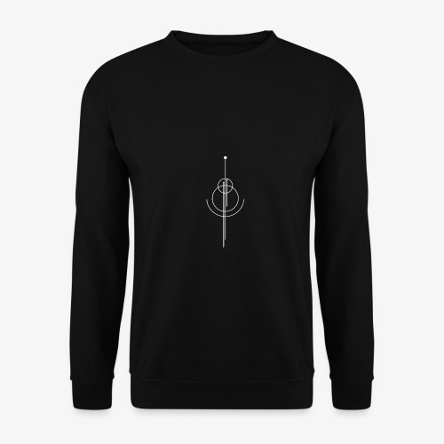 Geometrisches Design - Männer Pullover