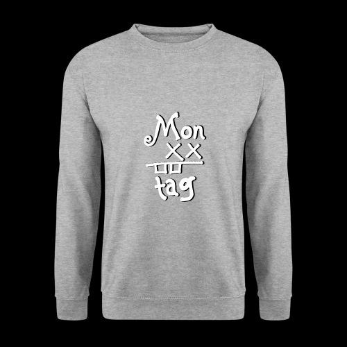 Montag x_x - Männer Pullover