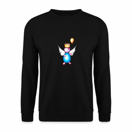 Mettalic Angel geluk - Unisex sweater