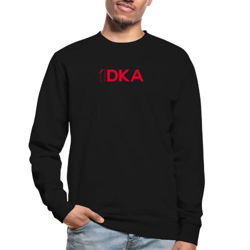 DKA - Czerwone Logo DKA - Bluza unisex