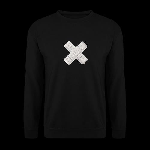 Xanax X Logo - Männer Pullover