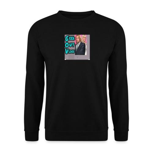 GeekOut Vlogs NES logo - Men's Sweatshirt