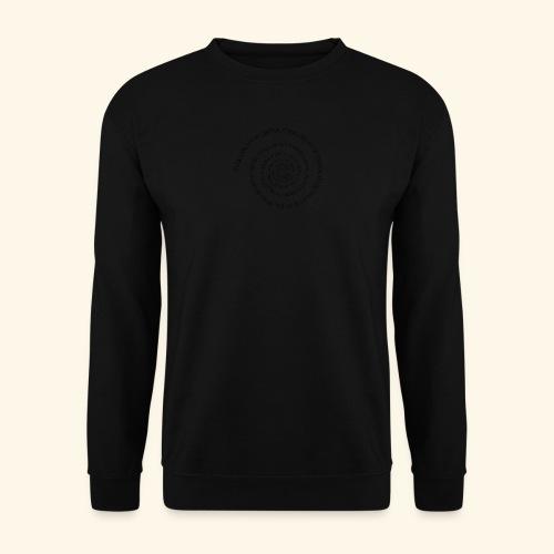 SPIRAL TEXT LOGO BLACK IMPRINT - Unisex Sweatshirt