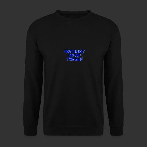 wat rijmt er op twaalf - Mannen sweater