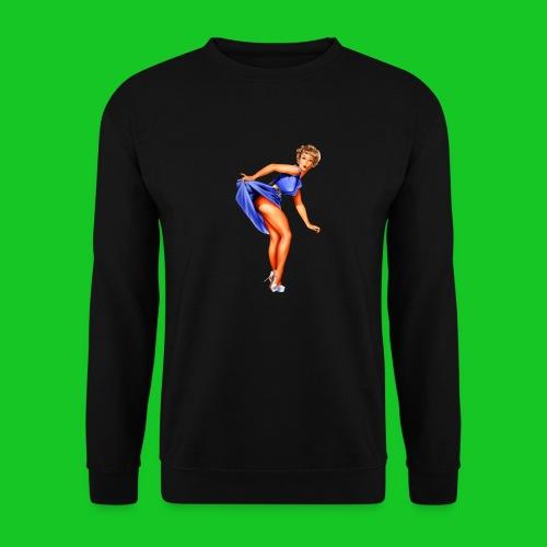pin up girl 2 - Mannen sweater