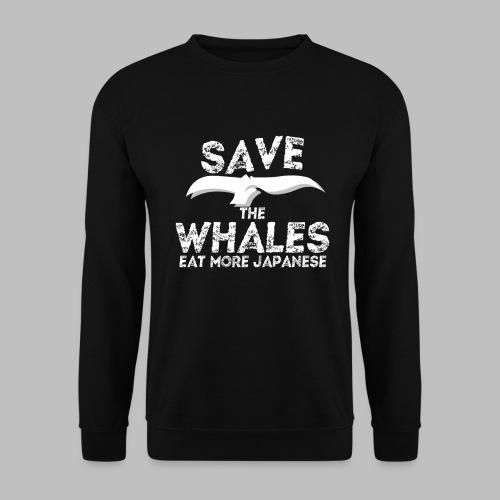 Rettet Wale esst mehr Japaner Geschenk - Männer Pullover