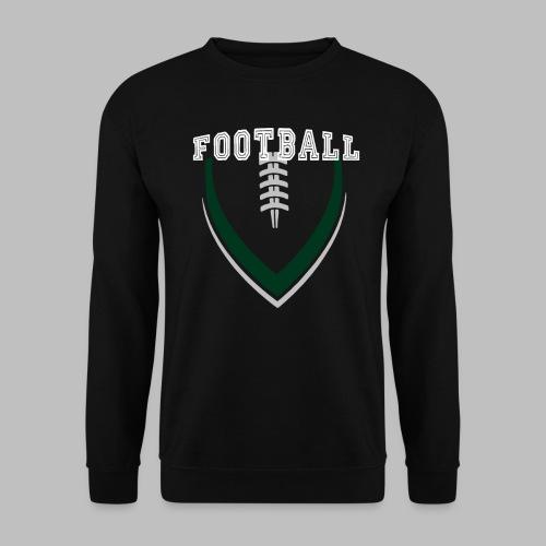 Football LOGO Ball American Football Geschenkidee - Männer Pullover