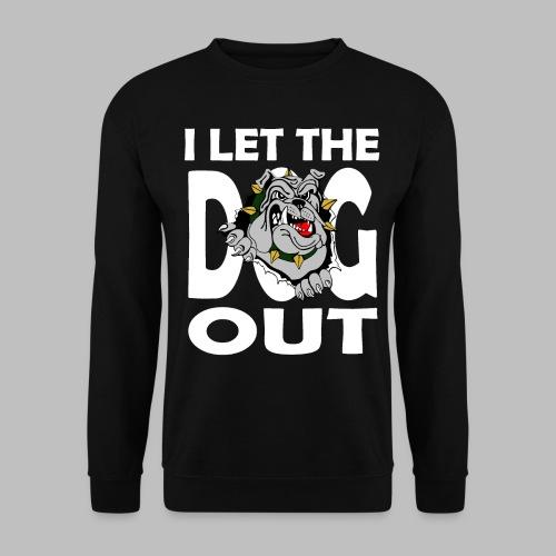Hund i let the DOG out Bulldogge Hundebesitzer - Männer Pullover