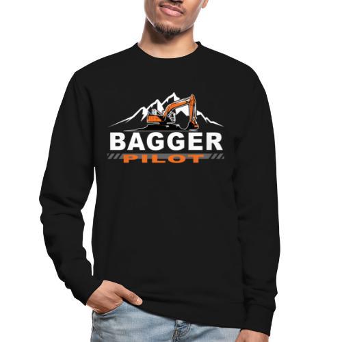 Bagger Pilot Baustelle Baumaschine - Unisex Pullover