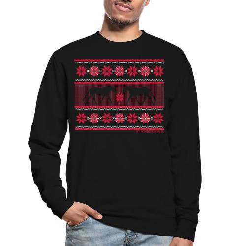 Ugly Sweater Pferde - Unisex Pullover